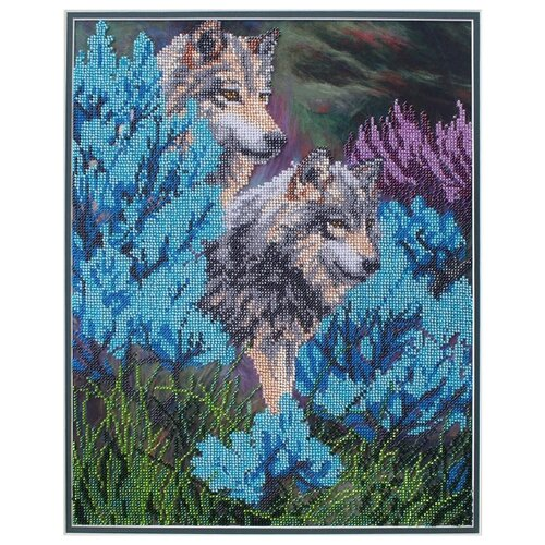 Hobby & Pro Набор для вышивания бисером Волки 38 х 30 см (БН-3059)Наборы для вышивания<br>