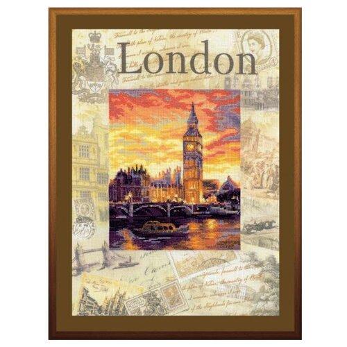 Купить Риолис Набор для вышивания крестом Города мира. Лондон 30 х 40 (0019 РТ), Наборы для вышивания