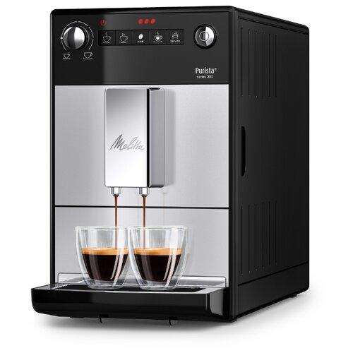 Кофемашина Melitta Purista Series 300 серебристый/черный