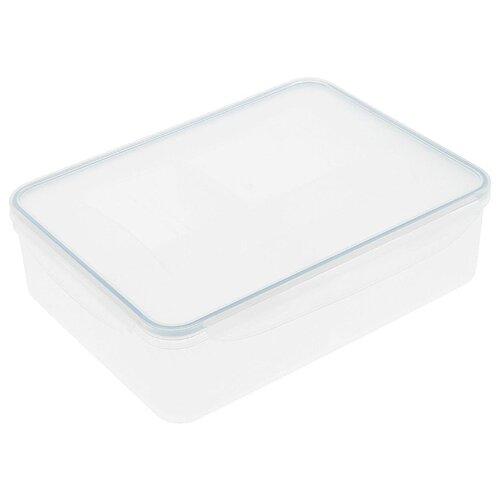 Фото - Tescoma Контейнер Freshbox 1.5 л прямоугольный голубой/прозрачный tescoma контейнер freshbox 2 л
