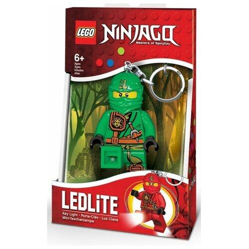 Брелок-фонарик LEGO LGL-KE77L, зеленый брелок фонарик lego lgl ke65 красный