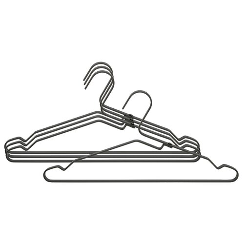 Вешалка Brabantia Набор алюминиевые для одежды черный