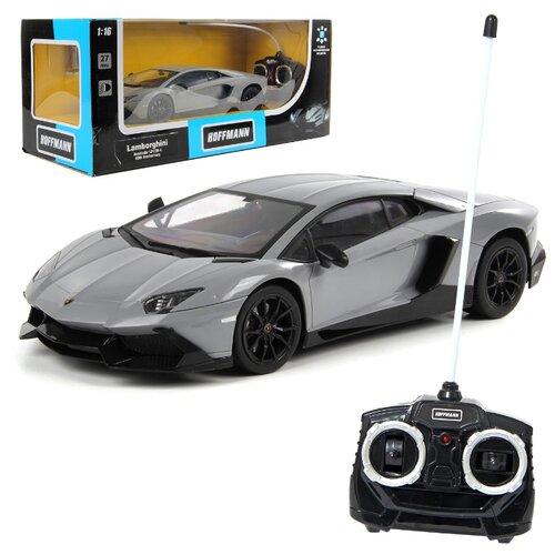 Купить Легковой автомобиль Hoffmann Lamborghini Aventador LP720-4 (85531) 1:16 30 см серый, Радиоуправляемые игрушки