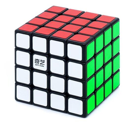 Купить Головоломка QiYi MoFangGe 4x4x4 QiYuan (S) Черный, Головоломки
