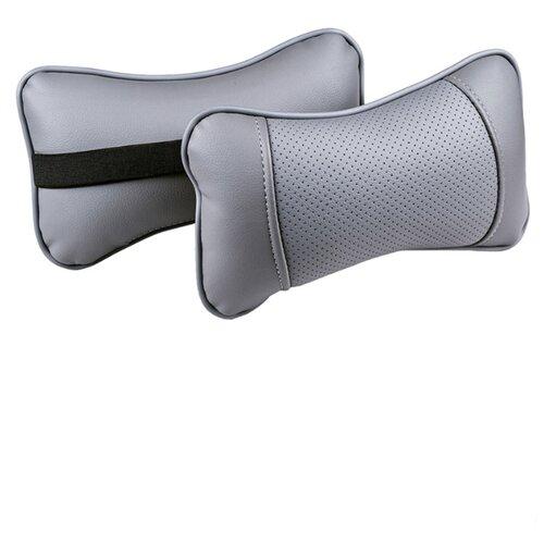Комплект автомобильных подушек под шею (Balton, т.серы/т.серы/т.серы, 2 штуки)