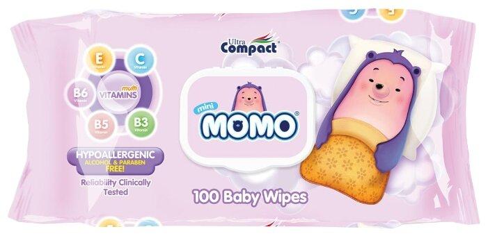 Влажные салфетки Ultra Compact MOMO