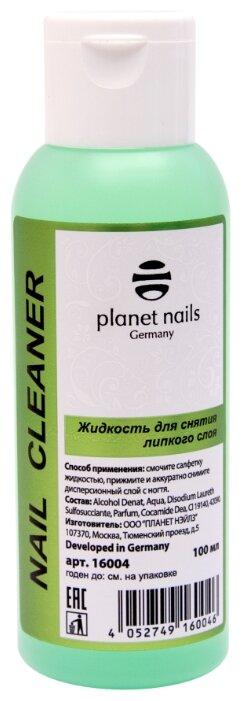 Planet nails Жидкость для снятия липкого слоя для ногтей Nail Cleaner