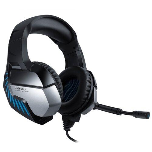 Компьютерная гарнитура Onikuma K5 Pro черный/синий гарнитура