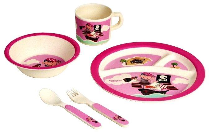 Комплект посуды Eco Baby Пираты