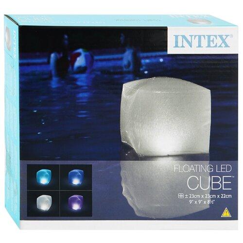 Intex Светодиодная лампа Надувной куб 28694E