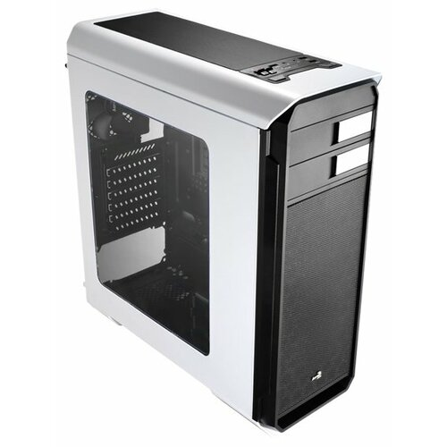 Компьютерный корпус AeroCool Aero-500 Window White Edition компьютерный корпус aerocool aero 300 faw black edition