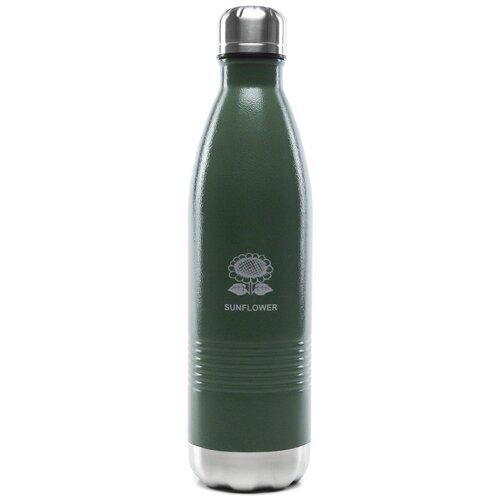 Термобутылка Sunflower SVК-750, 0.75 л зеленый