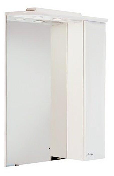 Зеркало Акватон Джимми 57 (1A034002DJ01R) правостороннее, белое