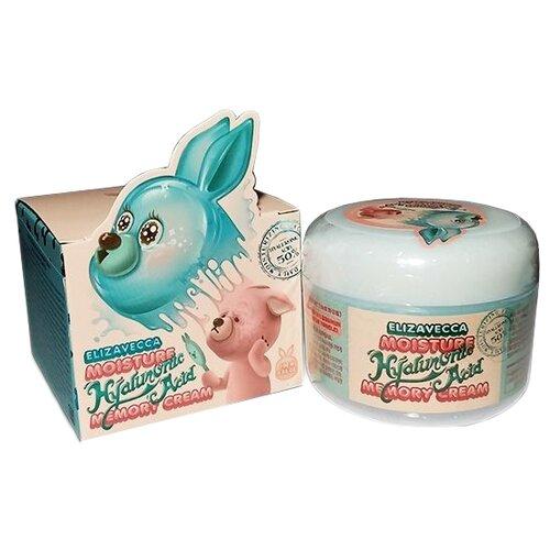 Elizavecca Moisture Hyaluronic Acid Memory Cream Крем для лица увлажняющий, 100 г крем для лица ullex hyaluronic acid