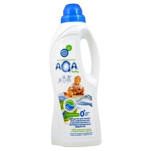 AQA baby Средство для мытья всех поверхностей в детской комнате 0.7 л концентрированное средство для мытья ванночек aqa baby с содой 500 мл