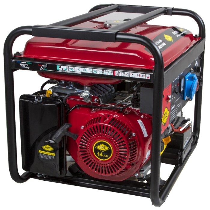 Бензиновый генератор DDE GW200 (5000 Вт)