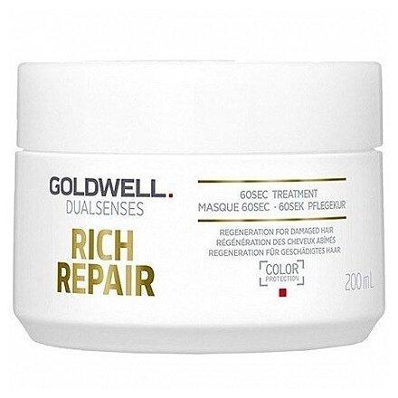 Goldwell DUALSENSES RICH REPAIR Восстанавливающий уход за 60 секунд для поврежденных волос