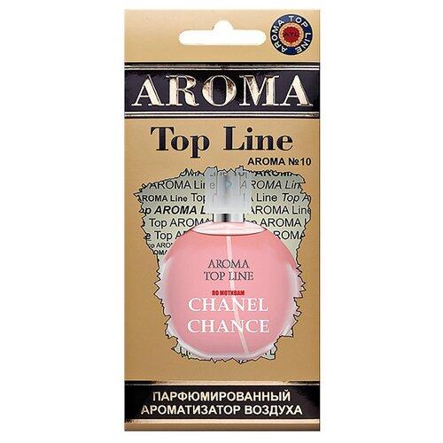 AROMA TOP LINE Ароматизатор для автомобиля Aroma №10 Chanel Chance Eau Tendre 14 г