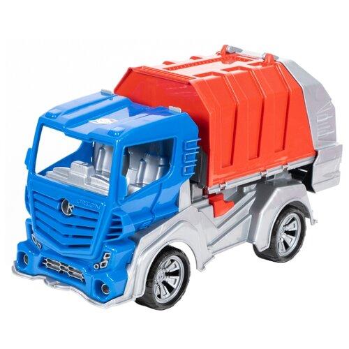 Мусоровоз Orion Toys FS1 (032) 48.5 см синий/красный/серый сортер orion toys логика шар 177 в 2 1018728 белый красный