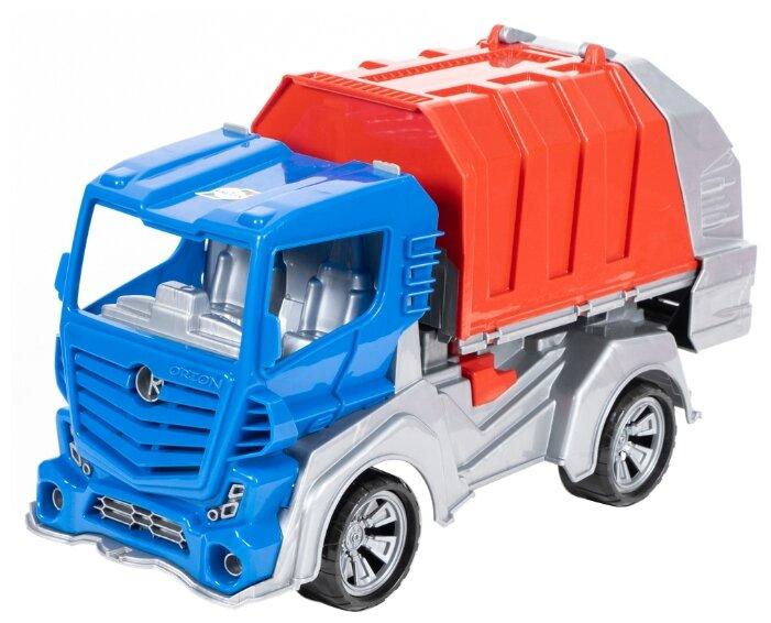 Мусоровоз Orion Toys FS1 (032) 48.5 см синий/красный/серый