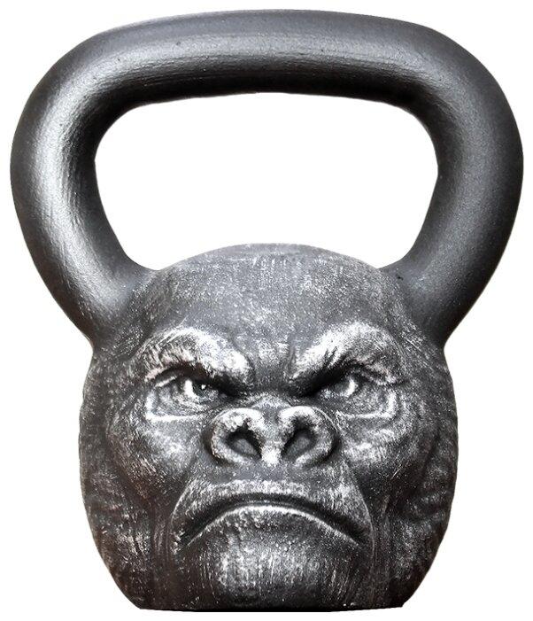 Гиря цельнолитая Iron Head Горилла 16 кг