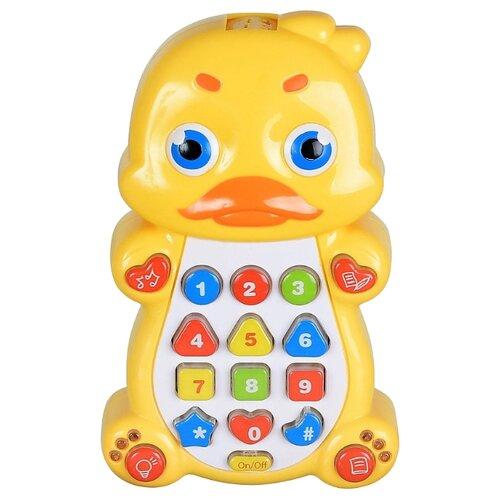 Купить Развивающая игрушка Play Smart Детский смартфон Уточка желтый, Развивающие игрушки