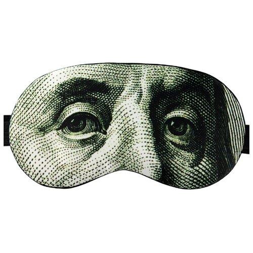 Маска для сна Shuba One hundred dollars, Benjamin Franklin benjamin franklin the autobiography