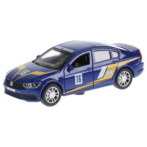 Купить Легковой автомобиль ТЕХНОПАРК Volkswagen Passat Спорт (PASSAT-S) 1:36 12 см синий, Машинки и техника