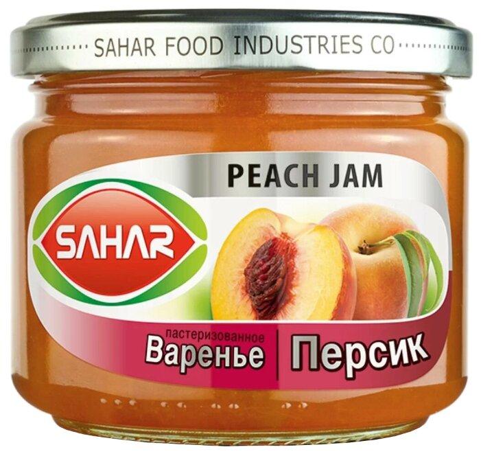 Варенье SAHAR из персика, банка 390 г