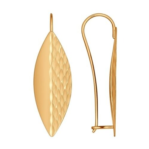 SOKOLOV Золотые серьги «Листья» 027131