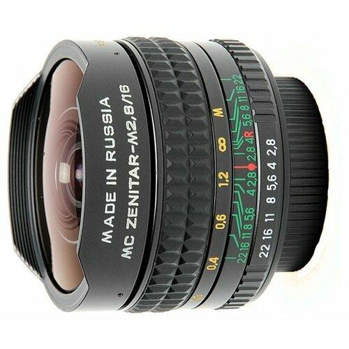 Фото - Объектив Зенит Зенитар-M 16mm f/2.8 объектив sony 16mm f 2 8 fisheye sal 16f28
