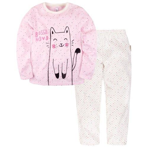 Купить Пижама Bossa Nova размер 28, белый/розовый, Домашняя одежда