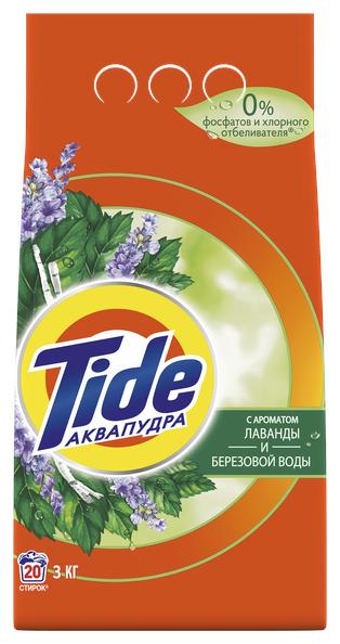 Стиральный порошок Tide Лаванда и березовая вода — купить по выгодной цене на Яндекс.Маркете