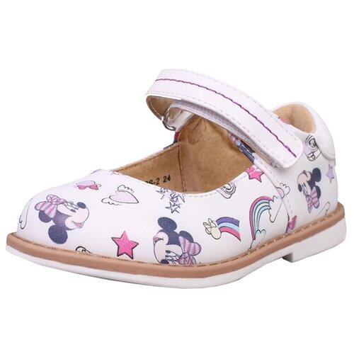 Туфли kari Minnie Mouse размер 22, белыйОбувь для малышей<br>