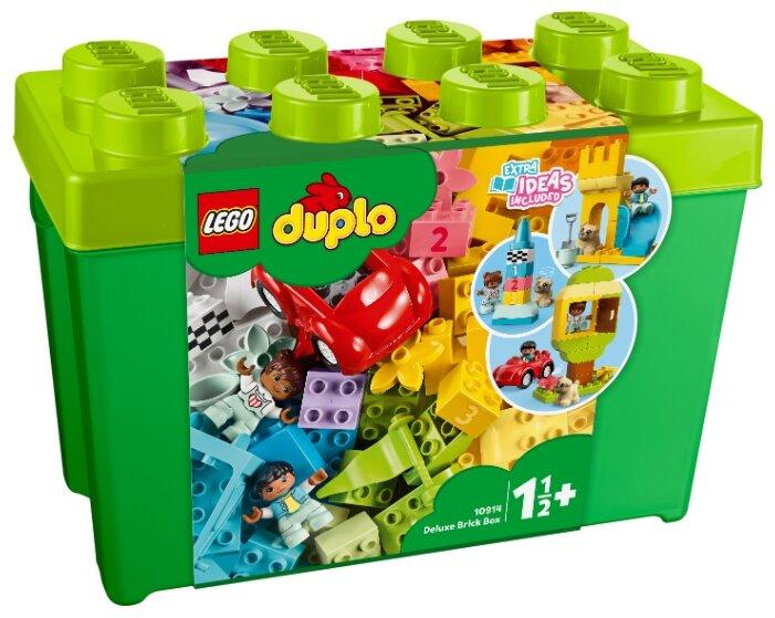 LEGO DUPLO Большая коробка с кубиками 10914