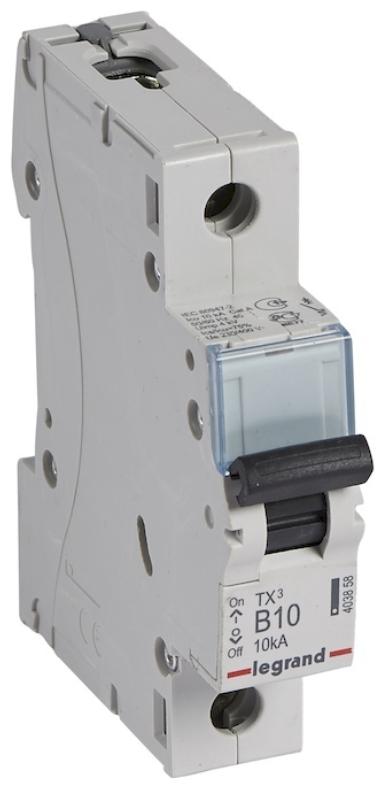 Автоматический выключатель Legrand TX3 1P (B) 10kA