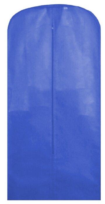 Eva Чехол для хранения одежды 150х65см синий