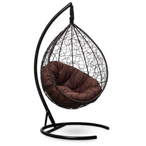 Подвесное кресло-кокон Laura Outdoor Sevilla Verde, коричневый/шоколадный