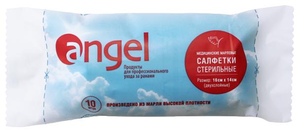 Angel салфетки марлевые стерильные