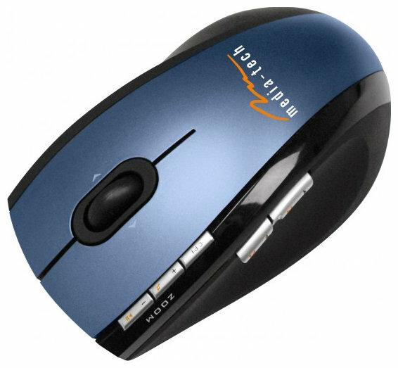 Мышь Media-Tech MT1043 Blue-Black USB