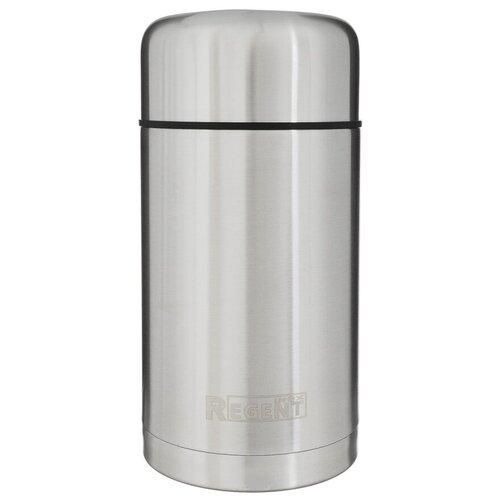 Термос для еды REGENT inox Soup 93-TE-S-2-1000, 1 л серебристый