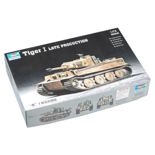 Сборная модель Trumpeter Tiger I Late production (07244) 1:72 realts trumpeter 01034 1 35 russian kamaz 4310 truck