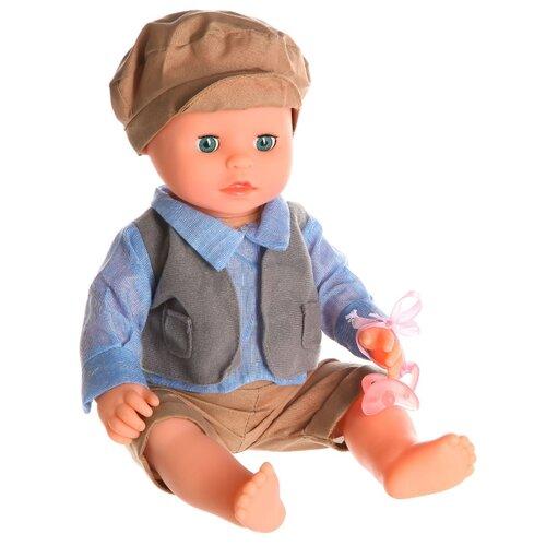 Фото - Интерактивный пупс Shantou Chenghai Wei Tai Toy Baby Toby, 30 см, 3592-14 интерактивный пупс joy toy маленькая ляля 058 19r