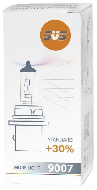 Лампа автомобильная галогенная SVS Standard +30% 12V HB5 65/55W 1 шт.