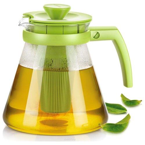 Tescoma Заварочный чайник Teo 1,25 л, зеленый