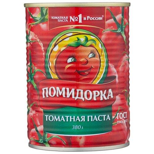 Помидорка Томатная паста, жестяная банка 380 г кубань продукт паста томатная 70 г