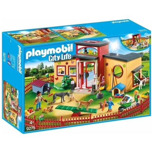 Набор с элементами конструктора Playmobil City Life 9275 Гостиница для животных