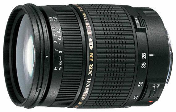 Объектив Tamron SP AF 28-75mm f/2.8 XR Di LD Aspherical (IF) (A09E) Canon EF — купить по выгодной цене на Яндекс.Маркете