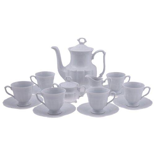 Кофейный сервиз Cmielow Maria-Teresa (Белый) 15 предметовСервизы<br>