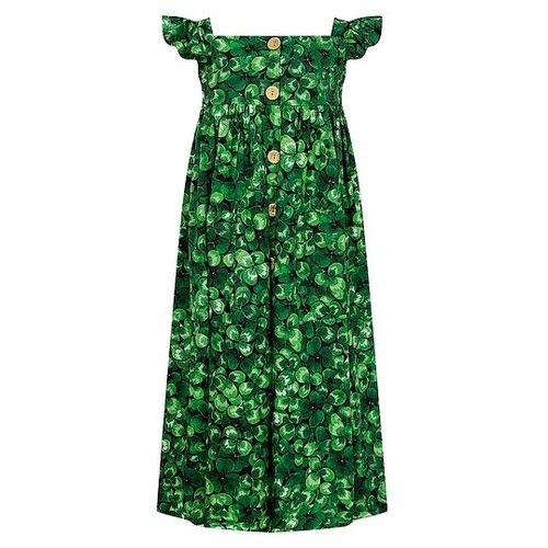 Платье DOLCE & GABBANA размер 152, зеленый